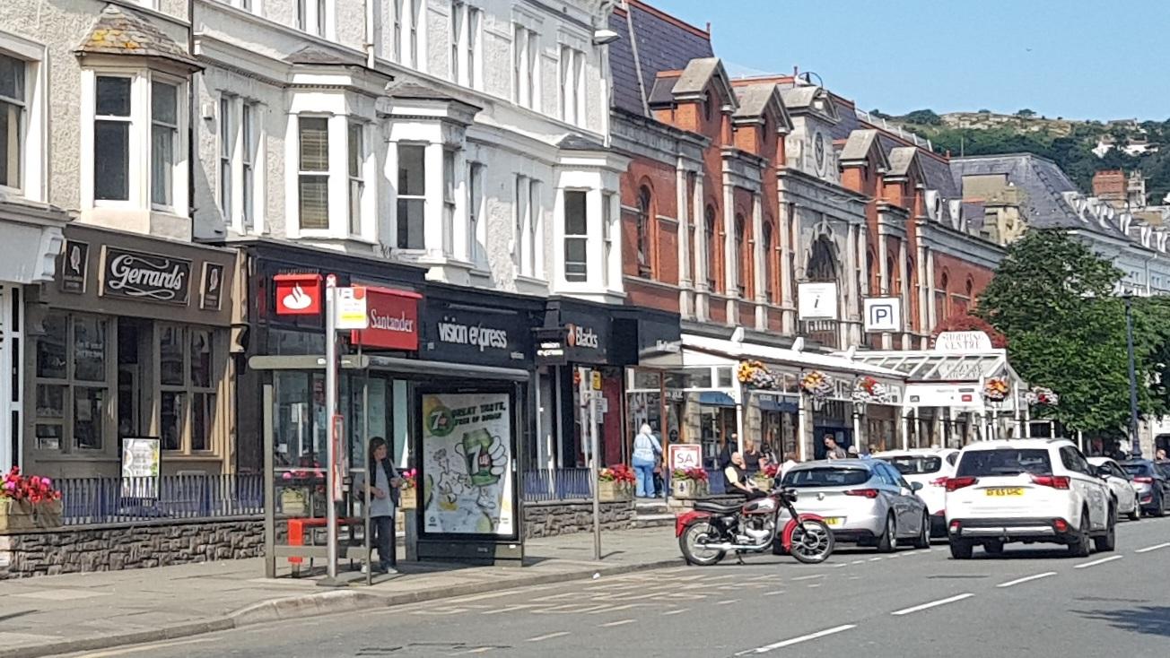 Llandudno High Street - Mostyn Street